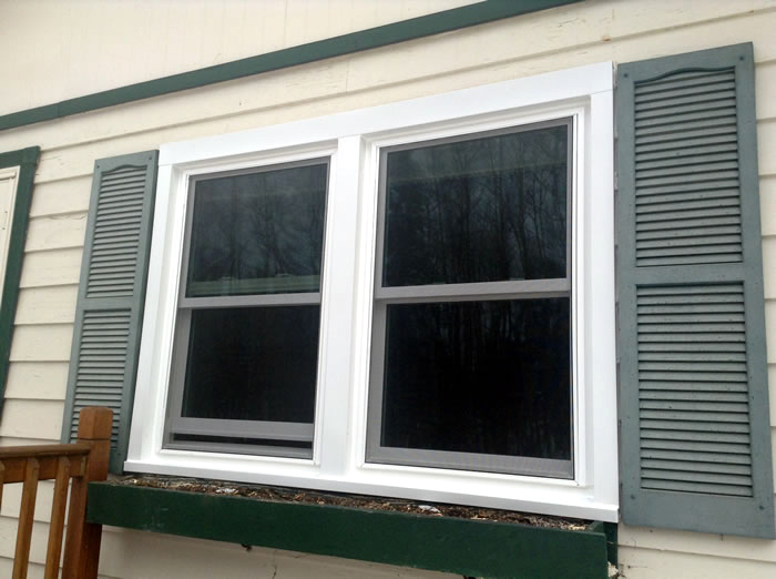 double hung window installation