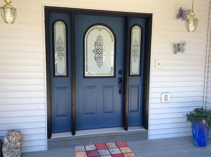entry window installation